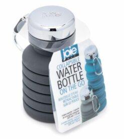 Bouteille eau rétractable sur le pouce
